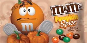 Pumpkin spice MnMs